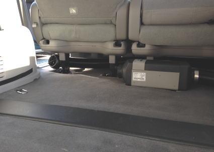 ベバストFFヒーターをステップワゴン取付