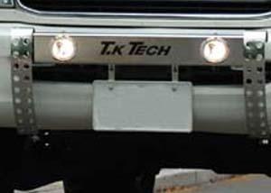 100系ハイエース用フォグランプ内蔵ランプステー LEDDOTARM