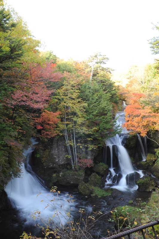 日光の風景 竜頭の滝