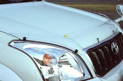 ランドクルーザー120プラド用フロントプロテクター(バグガード)