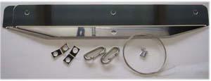 汎用カスタムパーツ マッドフラップ用巻き込み防止プレートやワイヤー