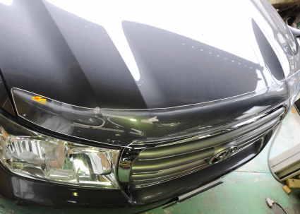 ランドクルーザー200用バグガード フロントディフレクター