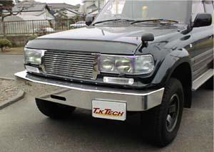 ランドクルーザー80用フロントプロテクター(バグガード)