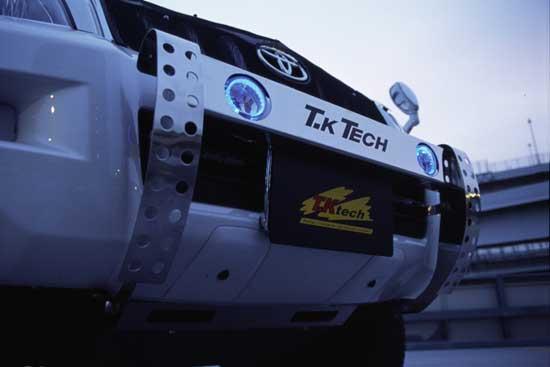 ランドクルーザー120プラド用 LED DOTARM フォグランプ付ランプステー