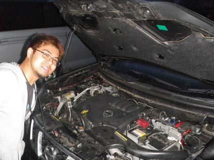 T31エクストレイル ディーゼル車のRUSHフィルター開発モニターさん